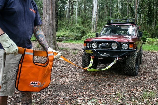Toyota Land Cruiser  ARB recovery kit
