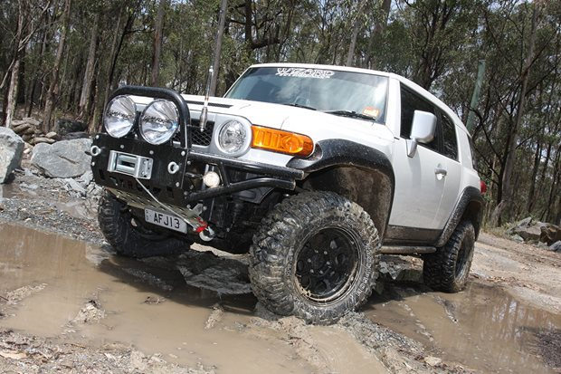 Custom 4x4 Toyota Fj Cruiser Review