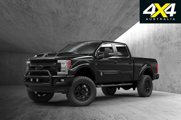 Custom Ford F250 Black Ops