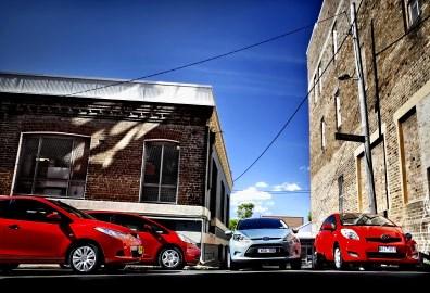 City Of Lights Ford Fiesta Lx Vs Honda Jazz Vti Vs Mazda 2