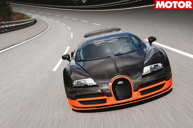 Why is the bugatti veyron illegal in australia