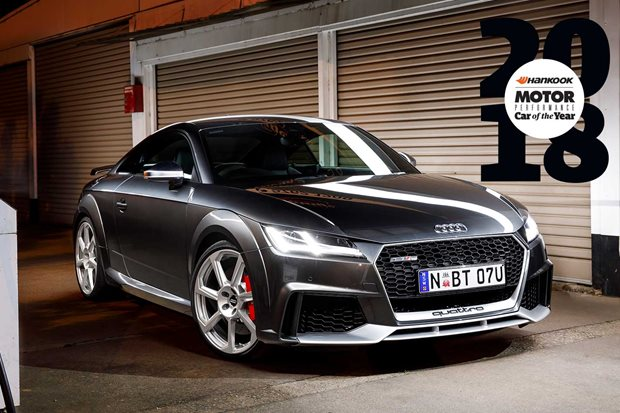 Audi TT RS Performance Car of the Year 2018 6th feature