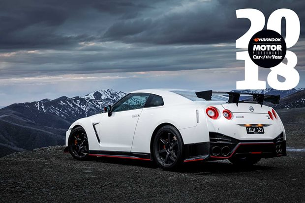 Nissan GT R Nismo Performance Car of the Year 2018 4th