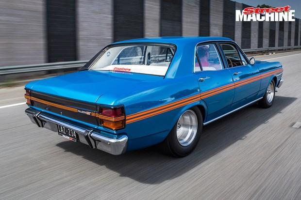 430ci Windsor Powered 1971 Ford Falcon Xy Sleeper