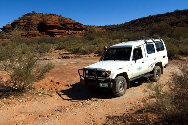 4x4 trip to Palm Valley NT