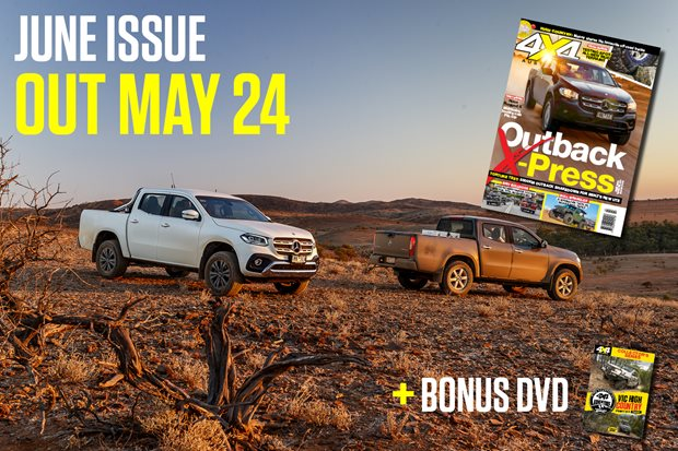 Bonus DVD with June 2018 issue of 4X4 Australia