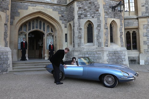 Three of the coolest cars from the Royal Wedding