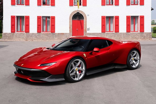 Ferrari SP38 is the lastest one off Prancing Horse