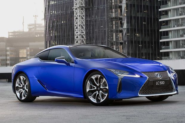 Lexus creates Morphic Blue paint after '15 years of research'