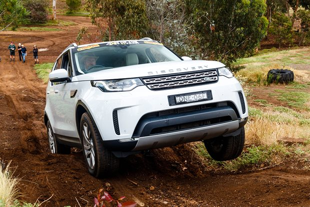 Land Rover Discovery production