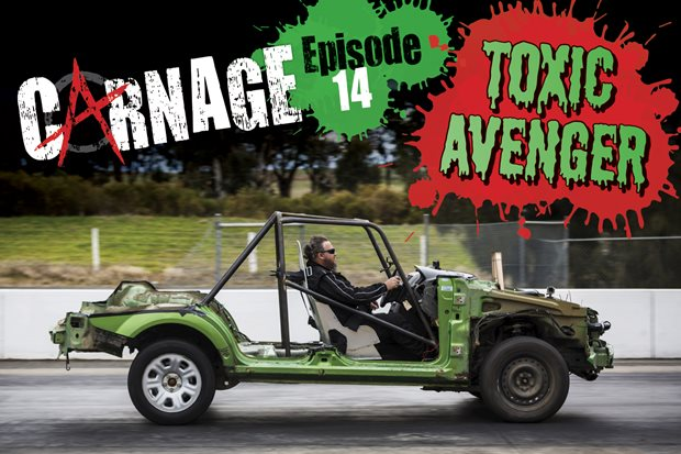 Carnage: The Toxic Avenger Part Two