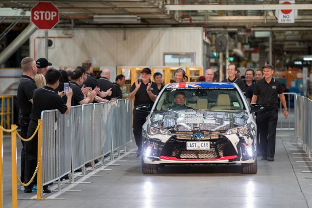 Toyota Australia pegs a profit in its last year of manufacturing