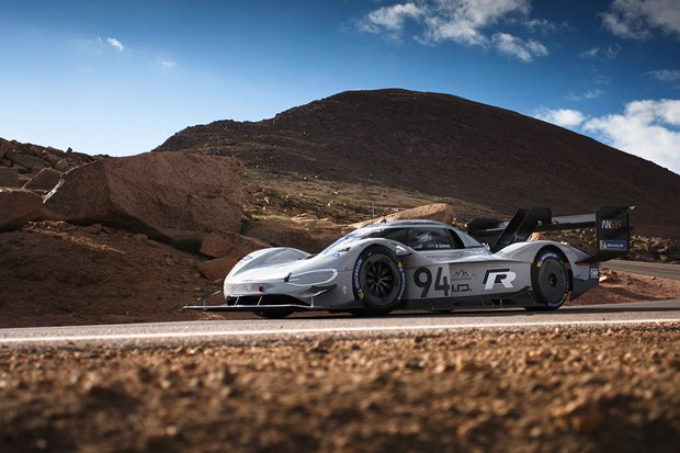 How VW smashed the Pikes Peak record