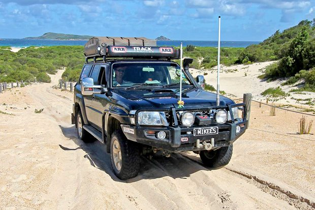 4x4 trip to Myall Lakes National Park NSW
