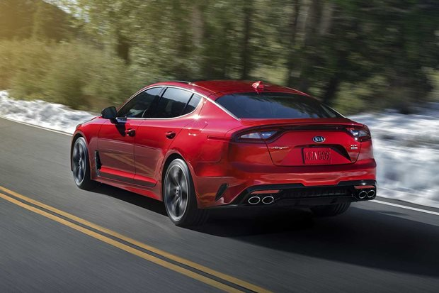 2018 Kia Stinger GT optional exhaust review