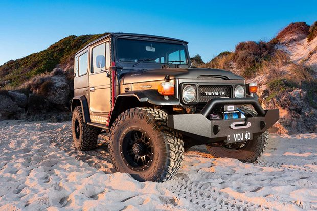 Custom Toyota Land Cruiser BJ40 review