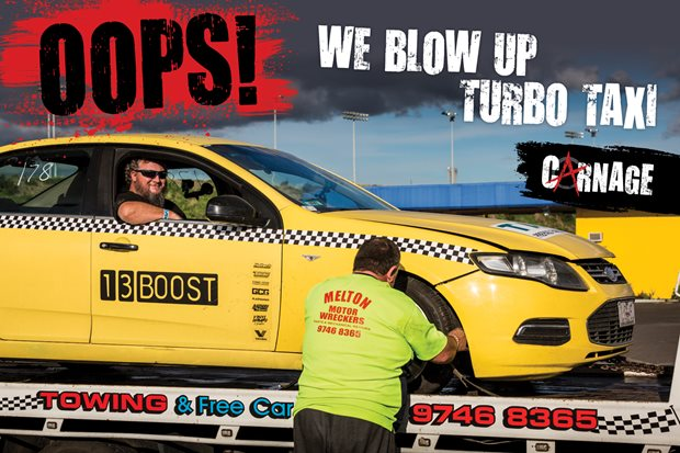 Carnage: Turbo Taxi Part Eight