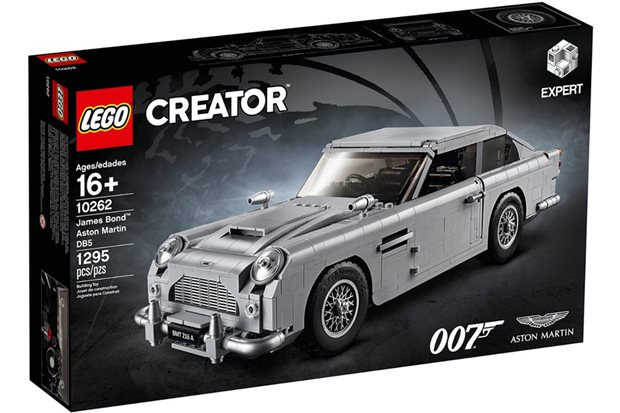 Lego 007 Aston Martin DB5: licence to build