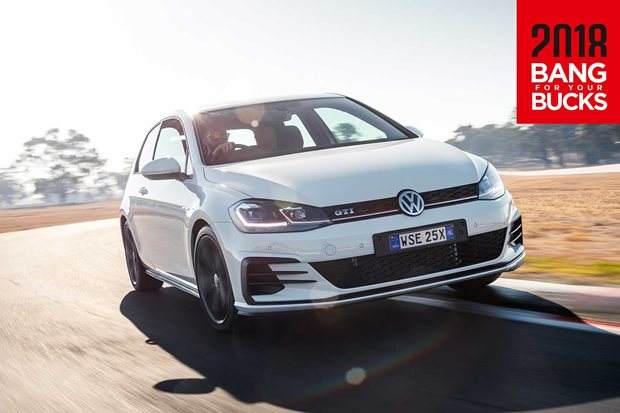 2018 Volkswagen Golf GTI Original track review
