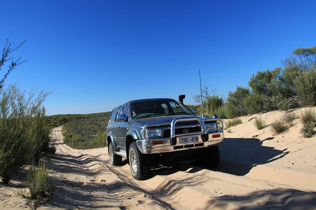 4x4 Trip to Wyperfeld National Park Vic