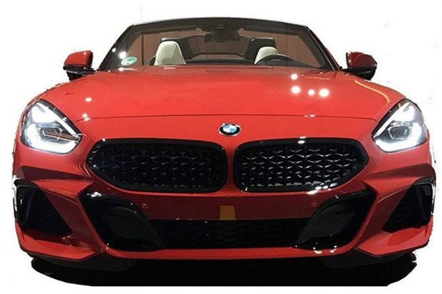 BMW Z4 leaked on Instagram in production form