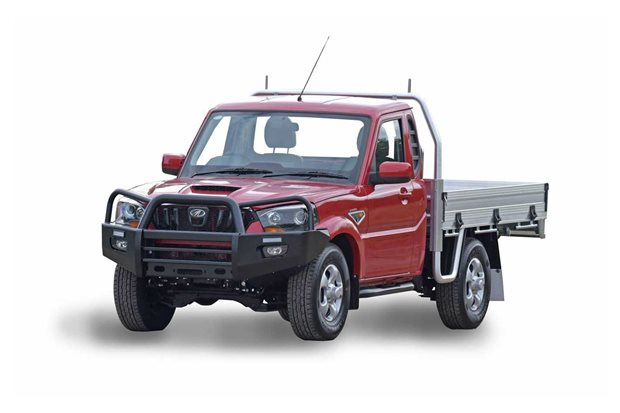 Mahindra S10 Single Cab Chassis added