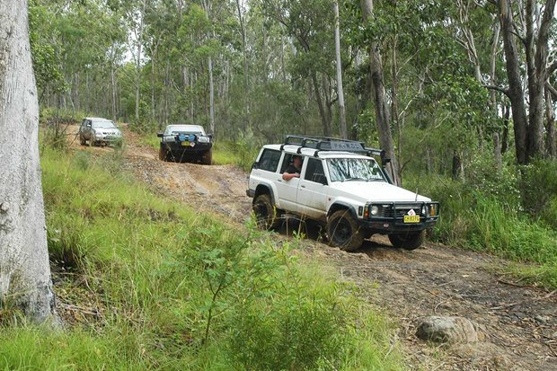 4x4 Trip to Rover Park, NSW