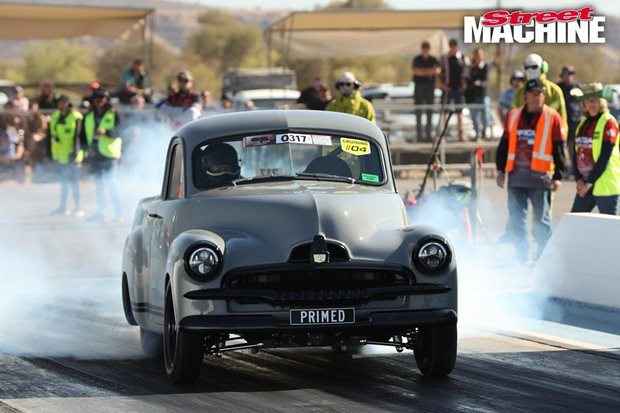 Twin turbo FJ Holden ute wins Red CentreNATS 2018 Grand Champion