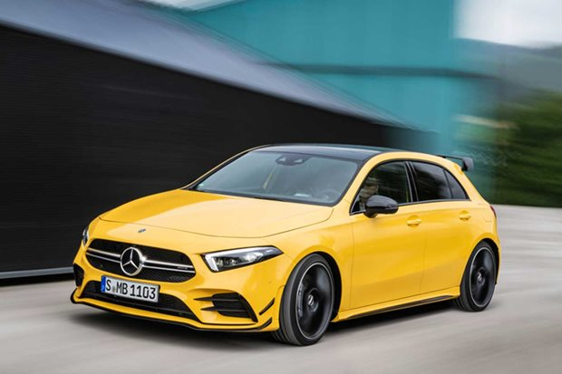 2019 Mercedes-Benz A35 AMG revealed