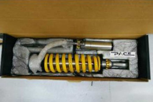 TJM Pace struts recalled