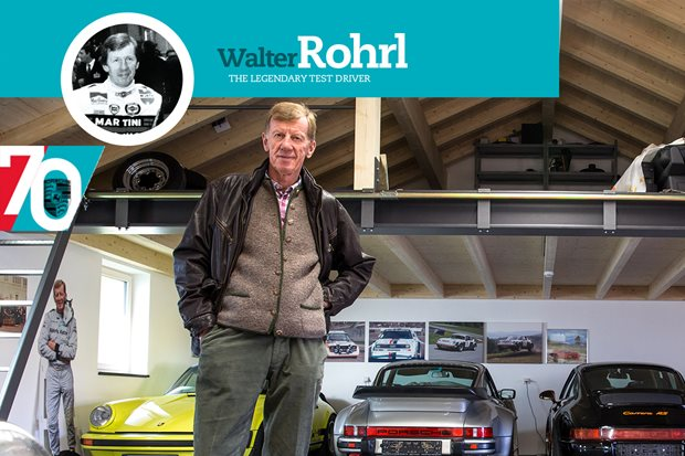 Walter Rohrl on the everyday sports car: Porsche turns 70