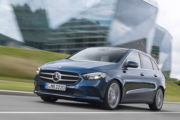 2019 Mercedes Benz B-Class revealed: 2018 Paris Motor Show