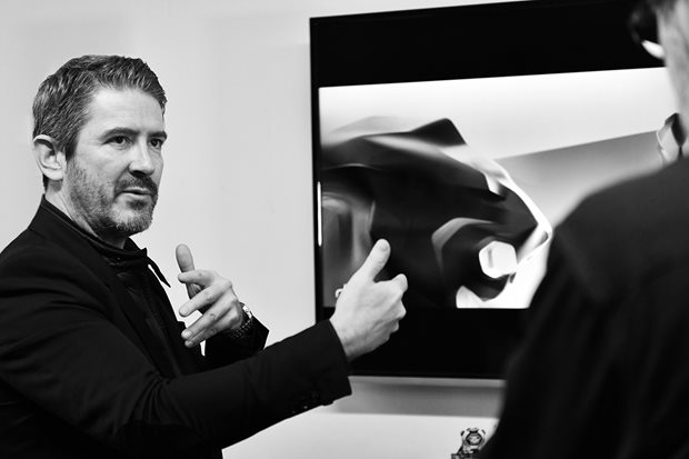 Gilles Vidal, the Peugeot designer who wants to do away with your dashboard