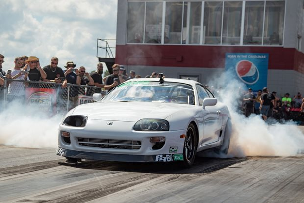 Seven-second Supra at Hot Rod Drag Week – Video