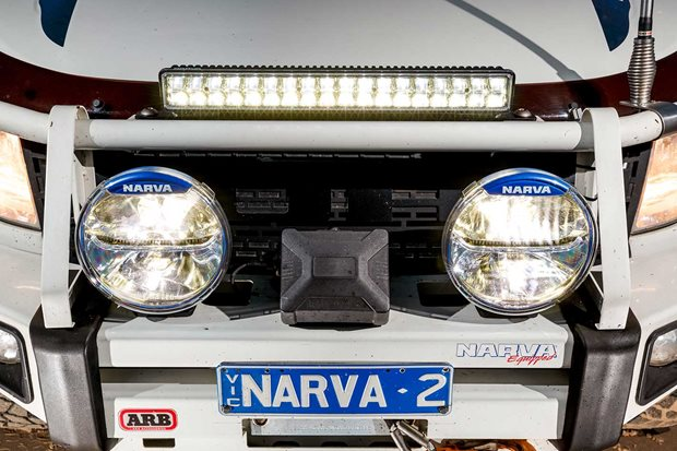 Narva Ultima LED 225 driving lights Explora light bar product review