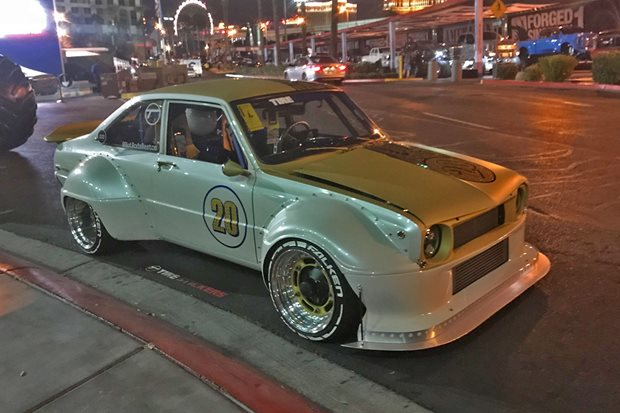A 20B-powered Mazda R100 at SEMA – Video