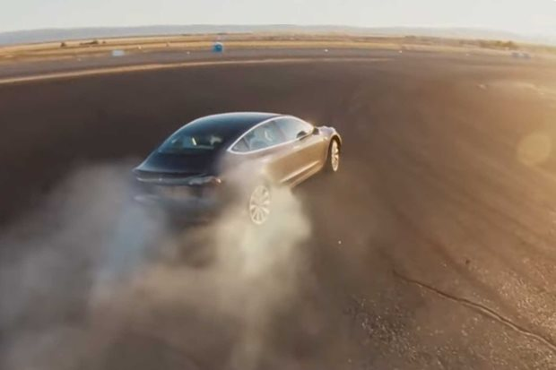 Tesla Model 3 gains Track Mode