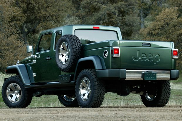 2019 Jeep Gladiator – name confirmed for Wrangler ute