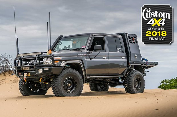 2018 Custom 4x4 of the Year finalist Toyota LC79 Thug Truck
