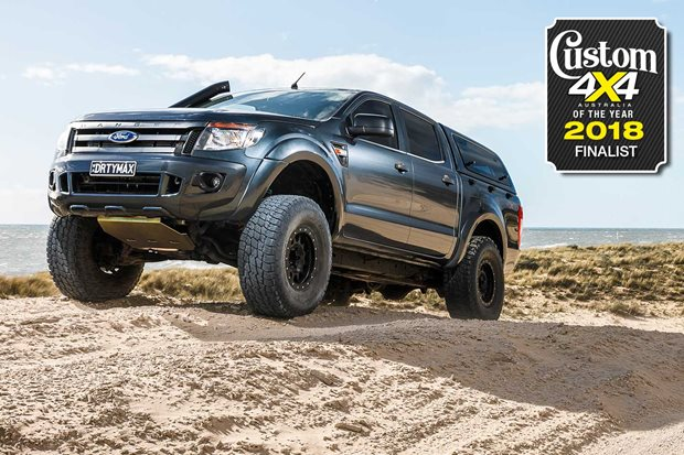 2018 Custom 4x4 of the Year finalist Duramax V8-powered Ford Ranger