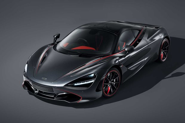 McLaren 720S Stealth design theme revealed