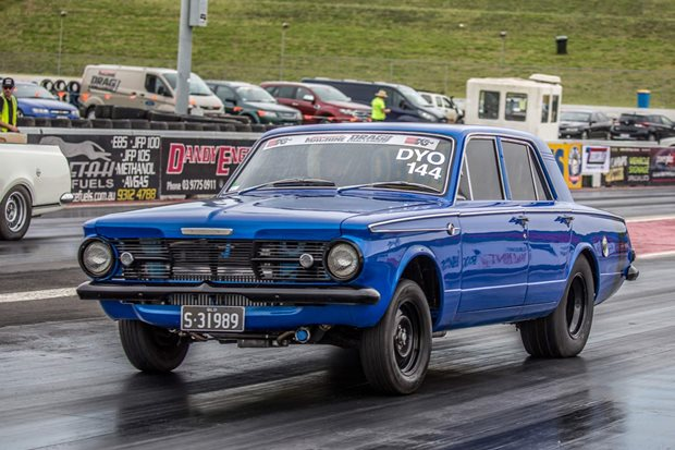 LS-swapped 1963 AP6 Valiant debuts at Drag Challenge 2018