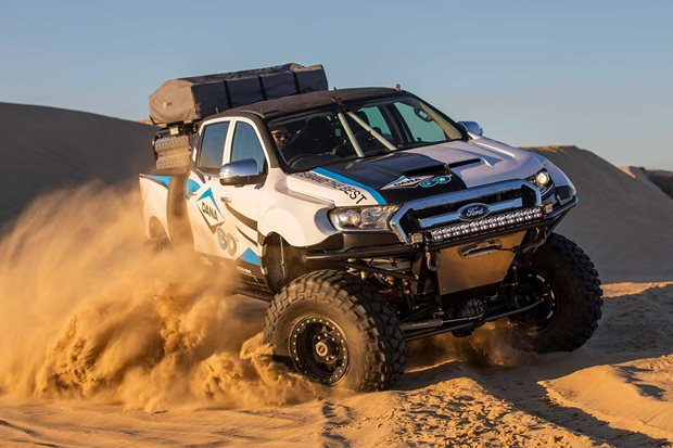 Custom Dana 60-equipped Ford Ranger