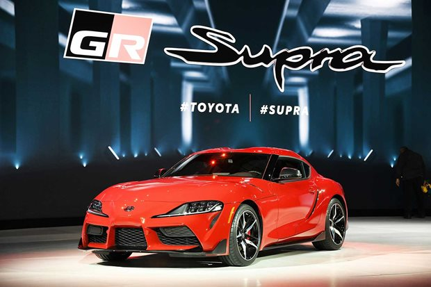 Toyota GB reveals Supra Camo wrapping paper