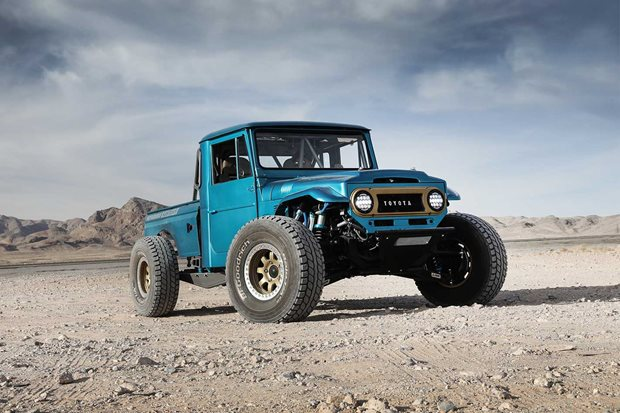 Gallery Custom Baja-bred Toyota FJ45 Land Cruiser