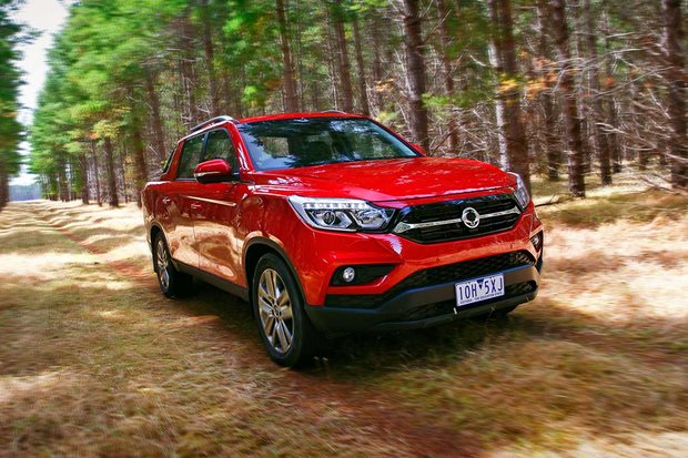 2019 Ssangyong Musso dual-cab ute 4x4 review