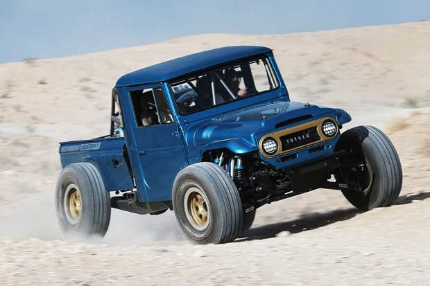 Custom Nefarious Kustoms Toyota LandCruiser FJ45 review