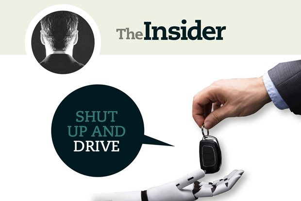 The Insider: bumps in the autonomous road