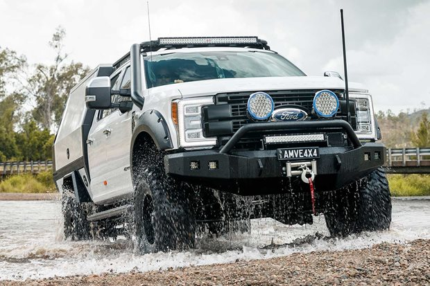 Custom Ford F-250 4x4 tourer review