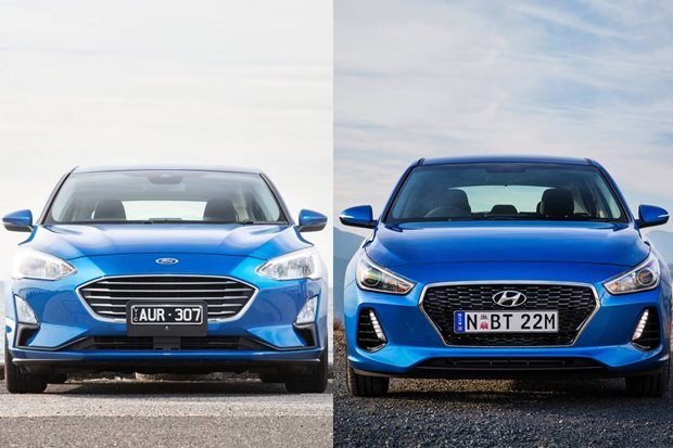 Ford Focus Trend v Hyundai i30 Active comparison review